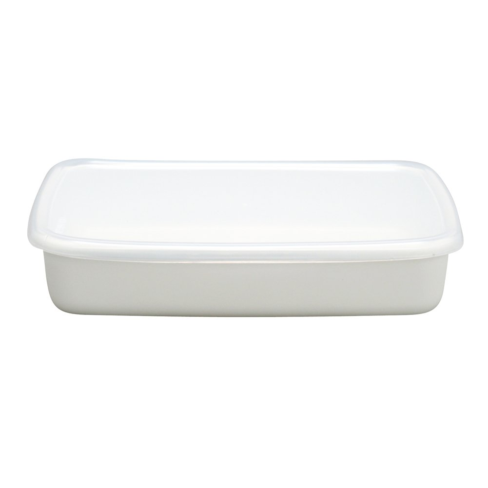Food Storage Enamel Container 1.4 L made in Japan