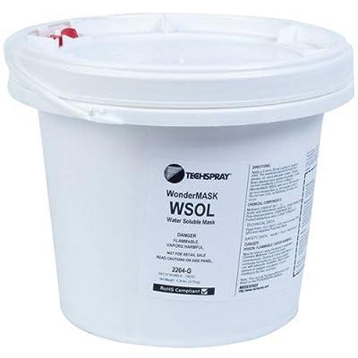 Techspray 2204-G Wondermask Wsol, Solder Mask, Water Soluble, 1 Gallon