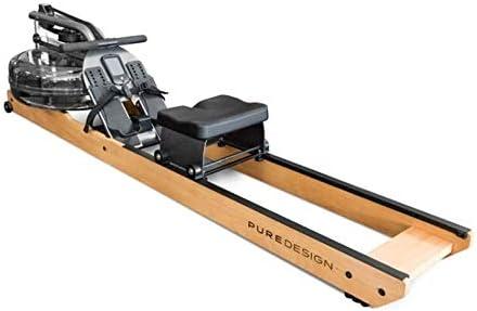 Water Rower Remo Pure Design VR2 - Fabricado en Acero y Aluminio Remo de Agua - Peso Máximo Usuario: 120kg