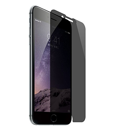 SANFEEL Privacy Tempered Glass for iPhone 8/7/6s/6 Screen Protector iPhone 4.7 2way Anti Spy Peeping Film Easy to Install Scratch Proof Fingerprint Free Bubbles