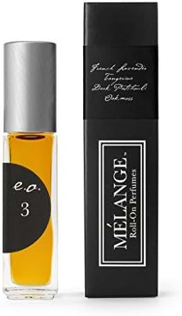 Melange French Lavender, Tangerine, Patchouli & Oak Moss Perfume .25 ounces