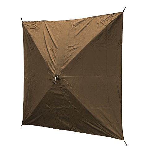 Quick Set Escape XL Wind Panels, Tear-Resistant Durable Side Panels Fire-Retardant (3 Pack), Brown (Fire Tear)