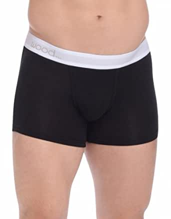 Wood Underwear Wood Boxer Brief in Black Small