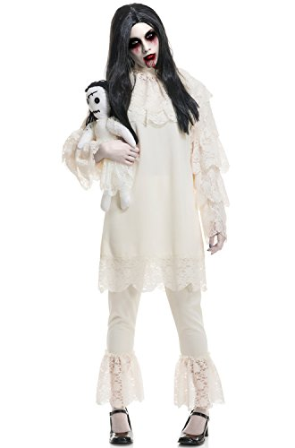 Doll Costume Vintage (Charades Womens Costume Vintage Wicket Doll)