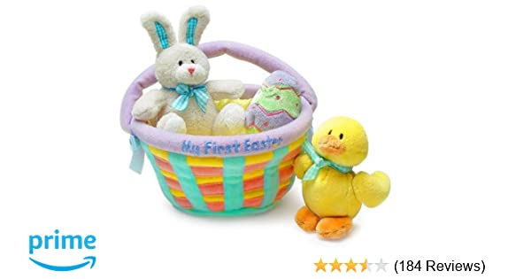 Amazon my first easter basket baby gund toys games negle Choice Image