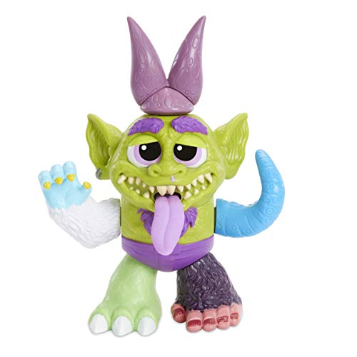 Crate Creatures Surprise Kaboom Box Gobbie Mix N Match Creature Figurine, Multicolor (Mix Creature)