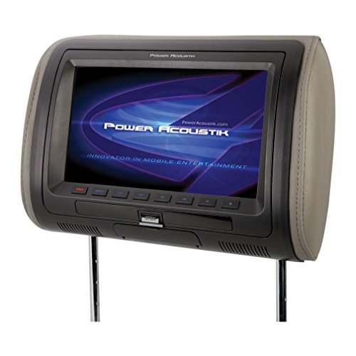 "Power Acoustik 7"" Headrest with DVD & mobilelink"