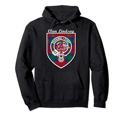 Lindsay surname last name Scottish Clan tartan badge crest