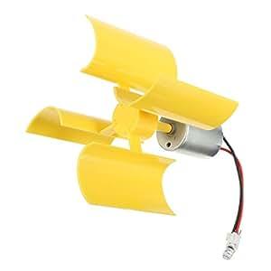 Rosesummer diy kit small dc motor vertical micro wind for Best dc motor for wind turbine