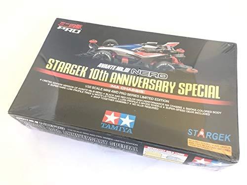 ミニ四駆 海外限定 アバンテ Mk-III ネロ STARGEK 10th ANNIVERSARY SPECIAL (ヒクオフレキレアカーボンスラダン) B07T4NXCPV