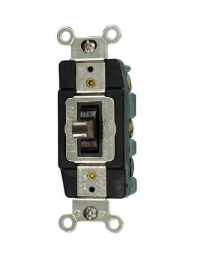 120-Volt Toggle AC Quiet Switch, Brown ()