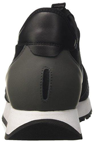 Bikkembergs Runn-Er 802, Sneaker a Collo Basso Uomo Nero (Black/Grey)