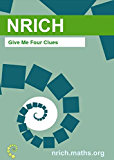 Give Me Four Clues Activity Sheet