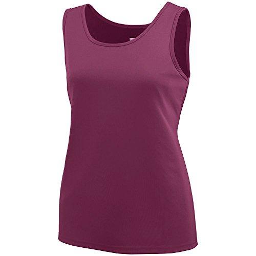 Augusta Sportswear Girls' TRAINING TANK L Maroon ()