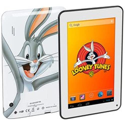 New Looney Tunes 7 Android Tablet PC WB701, 4GB Storage, 1G DDR3 RAM, Dual Camera, Multi Language, Ideal Table Coupons