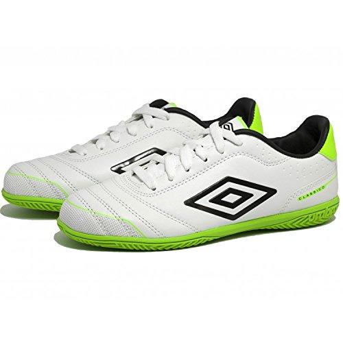 Umbro Football-Sneaker futbol sala umbro classico 3 m Blanc/Vert um 80948u.djz