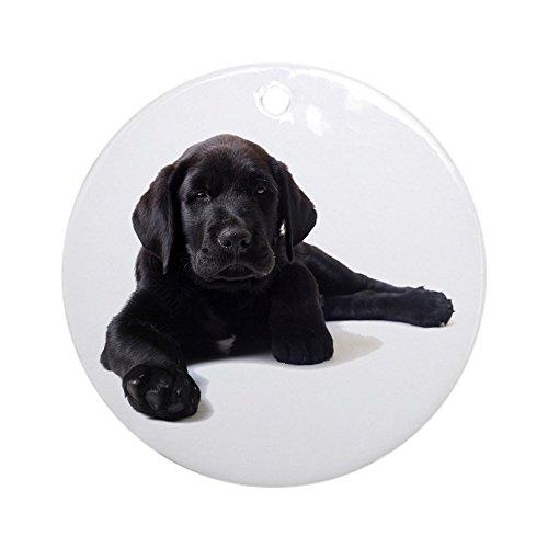 (CafePress Labrador Retriever Ornament (Round) Round Holiday Christmas Ornament)