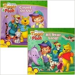 Disney My Friends Tigger & Pooh 2 Book Set: Playhouse Disney