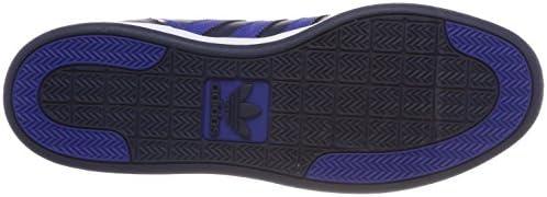 adidas Originals Varial Mid, Baskets Hautes Homme, Bleu (Collegiate Navy/Collegiate Royal/Footwear White 0), 43 1/3 EU