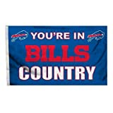 NFL Buffalo Bills Country 3-by-5 Feet Flag with Grommets
