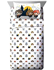 Harry Potter Hogwarts is My Home 4 Piece Full Sheet Set (Offical Harry Potter Product)