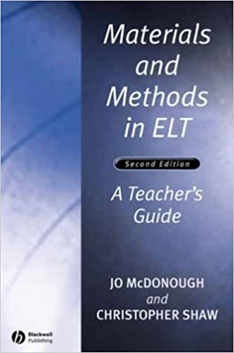 materials and methods in elt a teacher s guide applied language