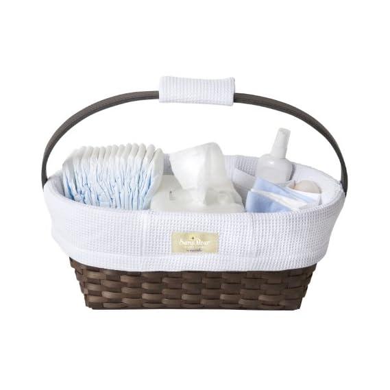 Munchkin Sarabear Portable Diaper Caddy, Colors May Vary