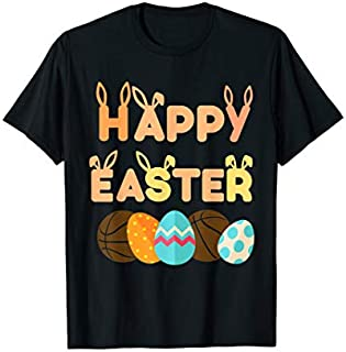 ⭐️⭐️⭐️ Happy Easter Basketball Egg Tshirt | Basketball Holiday Gift Need Funny Short/Long Sleeve Shirt/Hoodie