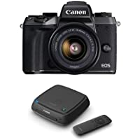 Canon EOS M5 Mirrorless Camera with EF-M 15-45mm f/3.5-6.3 IS STM Lens - With Canon Connect Station CS100