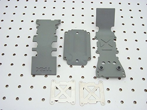 Traxxas 4938A Grey Rear Skidplate, T-Maxx 3.3