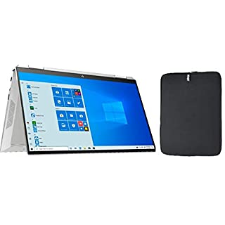 "Newest HP Pavilion x360 2-in-1 14"" FHD IPS Touchscreen Premium Laptop, Intel Quad Core i5-8250U, 8GB RAM, 128GB SSD, Backlit Keyboard, Fingerprint Reader, Windows 10 + Woov Laptop Sleeve Bundle"