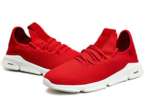 Fitness De Running Chaussures Sports Sport Homme Gym Gnediae Sneakers Course 45 Compétition Blanc Rouge Basket Outdoor 39 C05 Trail Entraînement Shoes SBwqOA5A