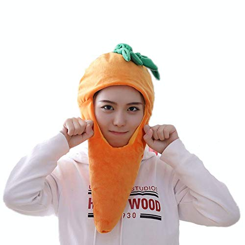 yqtyqs Carrot Hat carota Vegetables Cap Gift Halloween Party -