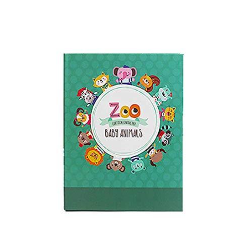 [해외]Kaiyitong 앨범 어린이의 작은 신선한 전통적인 앨범 삽입 독특하고 편안한 디자인 (100 개 이상의 사진을 수용 할 수 있습니다 노란색) 안전 (색상: 4) / Kaiyitong Album Children`s Small Fresh Traditional Album Insert Unique and Comfortable...