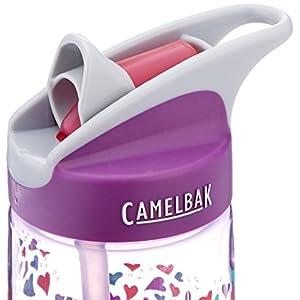 CamelBak Kids Eddy Water Bottle, 0.4 L, Elephant Love