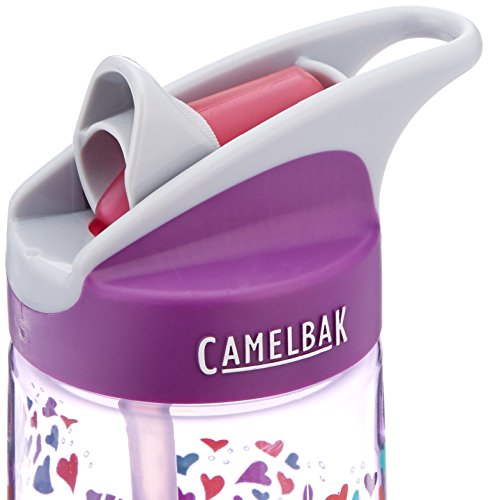 CamelBak Kids Eddy Water Bottle, 0.4 L, Elephant Love