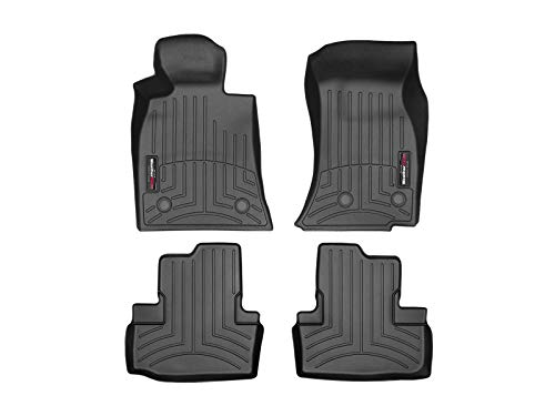 WeatherTech Custom Fit FloorLiner for ATS/ATS-V - 1st & 2nd Row (Black)