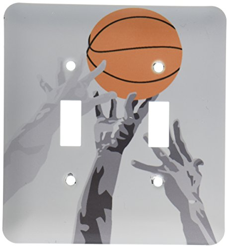 Basketball Up for Grabs Vector Sports Design Double Toggle Switch ()