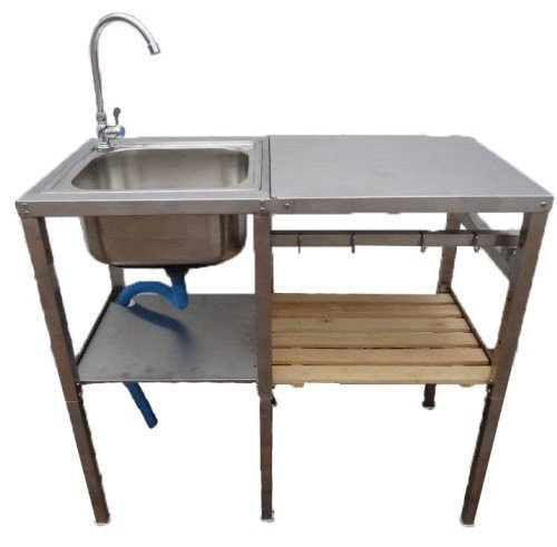 Hervorragend Waschtisch Waschbecken Edelstahl für Außen- und Gartenbereich  KW54