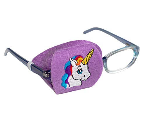 Eye Patch - Right Coverage Child Unicorn Eye Glass Eye Patch by Patch Pals from Patch Pals