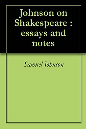Samuel johnson essay on teachers