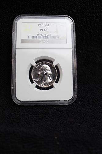 1951 Silver Washington Quarter 25c PF 66 ()