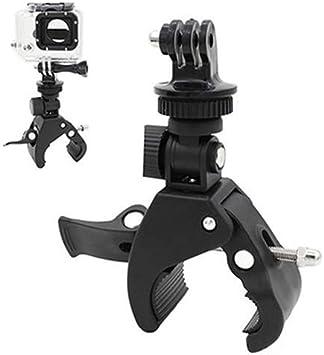 XQxiqi689sy - Soporte para Manillar de Bicicleta (Incluye Adaptador de trípode para GoPro Hero 1, 2, 3 y 3), Hombre, One Color, Talla única: Amazon.es: Deportes y aire libre