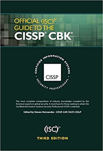 News] official (isc) 2 guide to the cissp cbk, third edition (isc2….