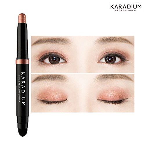 KARADIUM Shining Pearl Smudging Eye Shadow Stick, 1.4 g, #9 Rose Gold