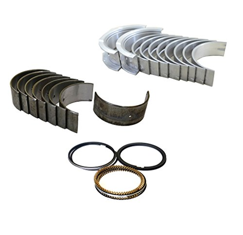 Diamond Power Chevrolet Cavalier 2.4L DOHC Bearings & Piston Rings Set (Pistons Chevrolet)
