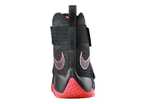 Nike Mens Lebron Soldat 10 Sfg Ep, Svart / Svart-svart-universitetet Röd Svart