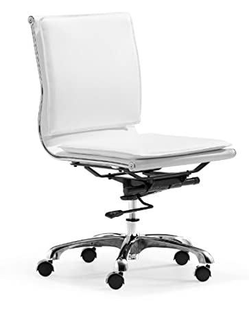 Amazon Com Zuo Modern Lider Plus Armless Office Chair Black