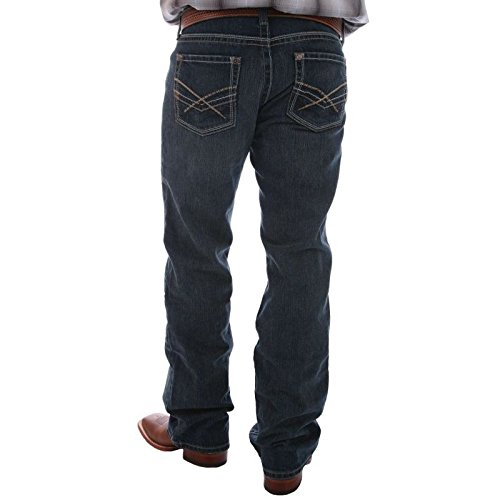 - ARIAT Men's M5 Arrowhead Low Rise Straight Leg Jean Deadrun 31 34