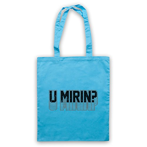 Bleu d'emballage Mirin Clair Meme Slogan Sac Workout Bodybuilding U cA06qPw1w